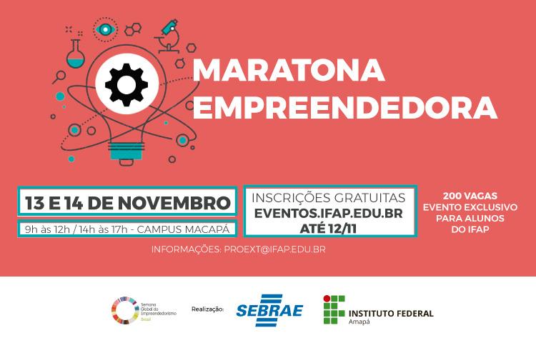 Maratona Empreendedora abre inscrição para alunos do IFAP
