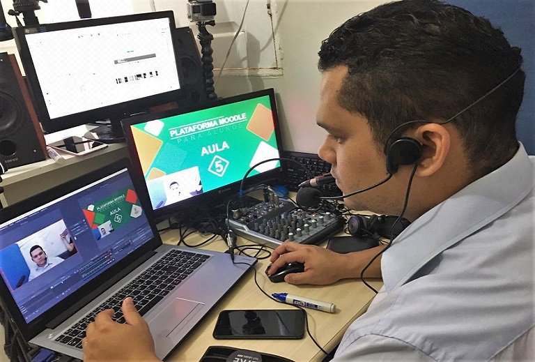 Campus elabora tutoriais de utilização da plataforma EaD do Ifap