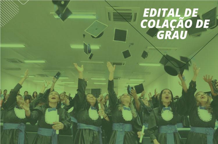 Campus publica edital de colação de  grau