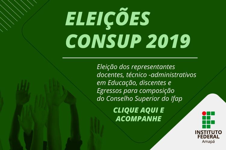 Assembleias para escolha de representantes do Campus Laranjal do Jari no Consup serão dia 14