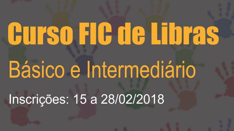 FIC de Libras 2018