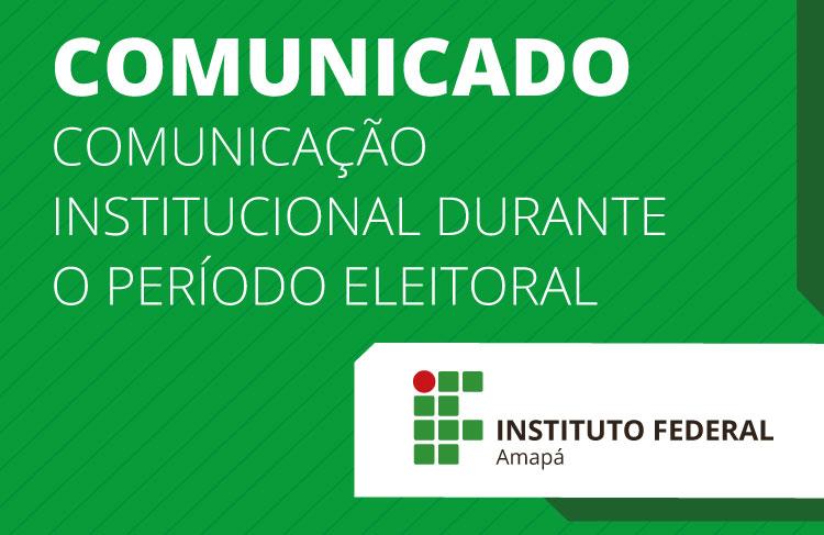 Período eleitoral limita comunicação