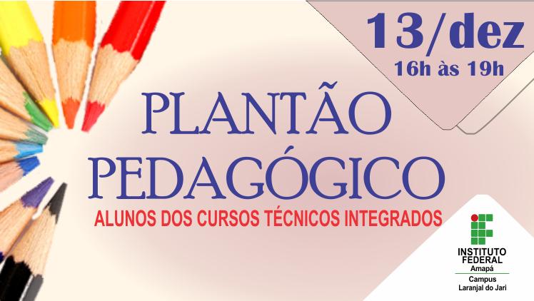 II Plantão Pedagógico 2019